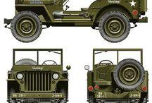 GPW Jeep Land Rower Land Cruiser