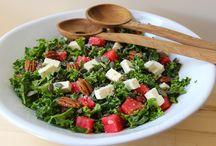 To Cook: Salads / Healthy & beautiful salads.