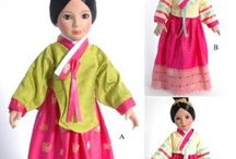 Korean Doll Patterns / Visit ChellyWood.com for free, printable doll clothes patterns.                     DFreviews.com is my Korean drama review blog.