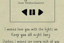 Shawn Mendes Lyrics ❤️