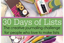 30 Day Challenges / by Suzy Sullivan