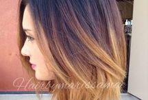Corte de cabello y color