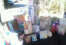 Vendors tables/craft displays