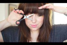 Bangs / How to cut bangs