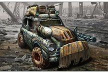 Post-apo vehicles