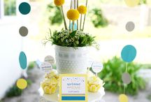 simple centerpiece ideas / by Shelly Sarver Designs