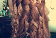 Mellemlangt hår