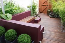 Courtyard garden designs / Design