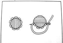 Bordado / pontos para bordar