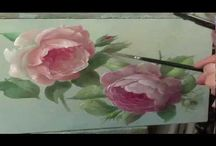 ☆How to paint a rose
