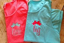 Sorority Monogramming / Get matching items done for you and your little/big!