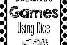 Maths games with dice