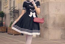 Ejaculatory Lolita Fashion / Nice lolita outfits of girls who get it :)