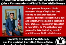 Romney - less we forget / Thankfully he lost the presidential election, this is why. (These were in my 'Politics' board, they have been moved so that it remains relevant to current political issues) / by Caitlin K