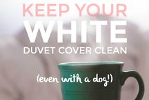 White Duvet / White duvet covers and comforters for an airy dream land