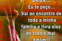 """Família / """"Crê no Senhor Jesus Cristo,e será salvo ,tu e a tua casa."""" Atos16:31"""