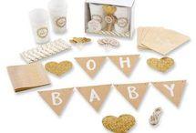 Gold & White Baby Shower