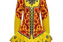 Handmade Irish dancing costumes / Irish dancing costumes made in Ireland by Siopa Rince