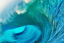 Surf / Surf, olas.  Deporte en el mar