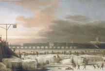 Frozen Thames / Paintings of the Thames Frozen