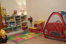 Niños. Zona de Juegos / En cualquier rincón de la casa podemos crear una zona de juegos para nuestros peques, ¿no os parece?