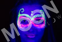 NEON UV GLITTER GELS by Moon Glow / Check out our BRAND NEW NEON UV GLITTER range!
