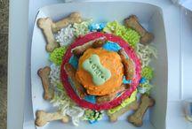 LE TORTE DI ZOE TORTE PER CANI / torte per cani fatte con materie prima di prima qualità. Ricette studiate con una equipe di veterinari. Testate sugli uomini. BELLE, BUONE SANE