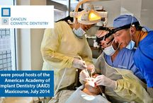 Implant Surgical TRaining Course AAID / Every year, in Cancun Cancun Cosmetic Dentistry is proud host of the Live Implant Surgical Training Course. This unique program puts together a small group of doctors to learn Live Dental Implant Surgery.