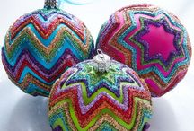 CHRISTMAS ORNAMENTS  -   DIY