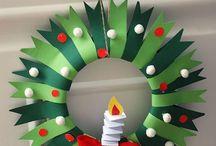 子供とクリスマス工作 / 身近なもので 幼児が作れる 簡単工作
