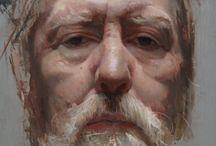 Portrettmaling / Oljemaling, portretter, figurativt,