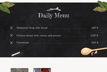 Restaurant web inspire