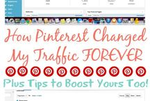 Pinterest for Bloggers / Anything that has to do with using Pinterest as a blogging tool