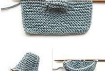 Scarpette per neonati fatte a maglia