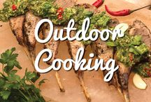 Outdoor Cooking / What is the driving force behind the outdoor kitchen trend? Enjoying the sunshine? Sure. Entertaining capabilities. Of course. But it all comes down to the food! Nothing beats a perfectly grilled summertime meal - wouldn't you agree?