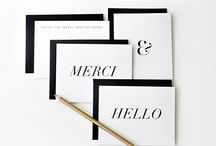 Paper Goods / Invitations, Stationery, Cards, and anything else pretty on paper!