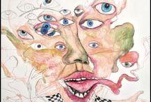 Bill Van Cutten / Illustration de Bill Van Cutten pour Retard Magazine