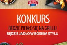 Konkurs Foto - Będzie piekło się na grillu, będzie jadło w boskim stylu / Informacje o najnowszych konkursach ZM Pekpol