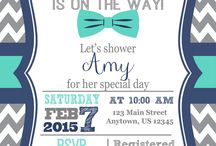 Baby Shower Invites Boys