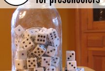 Preschool Numbers / Games and ideas for teaching numbers to preschoolers in speech therapy