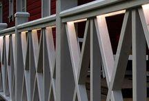 Aitoja ja kaiteita pihalle | Fences and rails