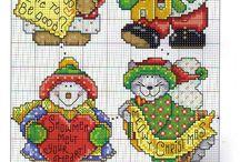 Christmas / jola myndir/munstur