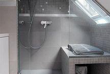 Badkamer zolder