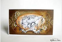 Cardmaking - Artsy style