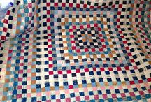 Red White and Blue quilts / by Sandra Barber