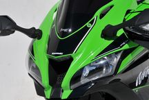 Kawasaki ZX 10 R 2016 by Ermax Design / Aeromax windshield