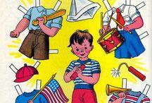 Paper Dolls BOYS