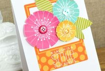 Bright/Cheery cards