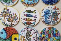Cuerda seca cerámica