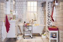 Organização da(s) Casa(s) de Banho / Tudo o que tenha a ver com arrumação e decoração de casas de banho